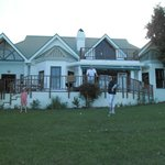 View of the house in Fancourt where we stayed