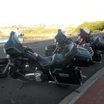  Harley Davidsons at The Windsor Hotel