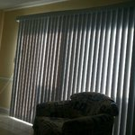 308 Breakers villa living room area-excellent shading with these vertical blinds