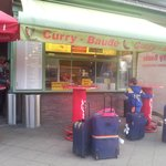  Curry-Baude just outside Gesundbrunnen station on the way to Citylight Hotel