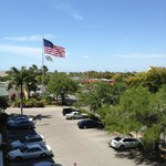  View from the 4th floor on the Cape Coral Blvd. side of the property.