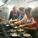 Senior Center Cooking School -- fun for all