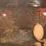 Lovely Welcome Log Fire