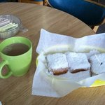 donuts an chicory coffee