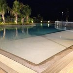 Pool taken at night time..excellent ambience