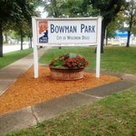 Bowman Park - directly across street from motel