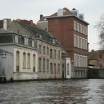  The Hotel from a boat trip on the canal