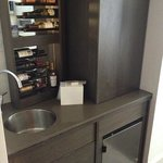  mini bar and sink