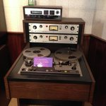 Original two-track. One of many great pieces of equipment in the reconstructed studio.