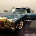 Issac Hayes' gold-plated Caddy. Enough said.