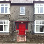 Front of the B&B (love the red door)!