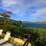  Looking out towards Spinalonga from the Pool area