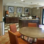 Hampton Inn Sarasota Bee Ridge breakfast bar