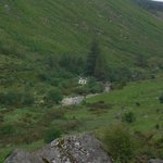 Glenmalure Hostel from above