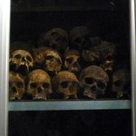 Skulls of unknown victims
