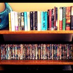  Book exchange amd lots of movies..watch at DVD player or laptops