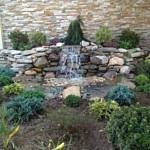 Zen Rock Waterfall Pond