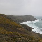 South West Coast Path, Land's End - Porthcurno