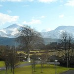  View of Mournes from Burrendale Hotel
