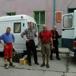  Explotour in Valparaso. Our friend Joseph Gelte (in red) staing with us