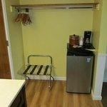 Rifrigerator & Coffee Area