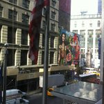  view of macys (white building) from room
