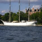 All aboard the Af Chapman in Stockholm