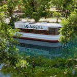  Glass bottom boat at Aquarena Springs July 2012