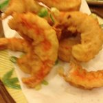 world's best tempura prawns