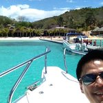 Arriving at two seasons island resort coron palawan