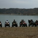 quad trip Viñuela lake