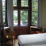 Deluxe room with terras and view on the inner gardens