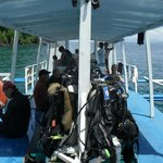 Diving in Limasawa Island