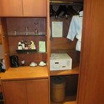 wardrobe with safe