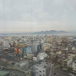 View of Imabari from the bedroom window