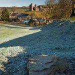 Holmhead on a frosty morning