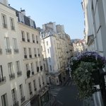 Looking from our window up toward St Germain