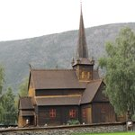 Stavkirke Lom