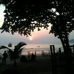  sunset in ao prao