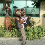 Me and more sculptures