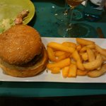  Hamburguesa de la casa