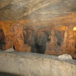  Formations in the cavern...
