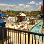 waterpark view from room