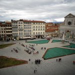 View of Piazza Santa Maria Novella from Hotel