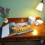  Desk and Cambridge book