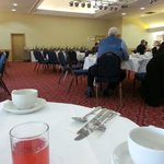  Breakfast in a function room?