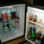 Mini fridge bar