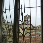 The view of the church bells of Santa Maria Maggiore fron our window.