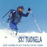 SKI HARD PLAY FAIR HAVE FUN