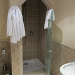  Upstairs Bathroom with bath &amp; shower cubicle